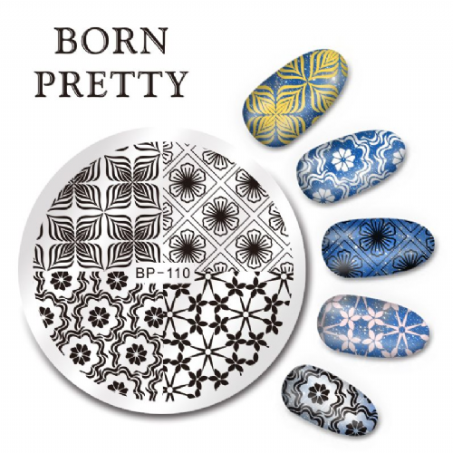 Born Pretty Plate # BP-110